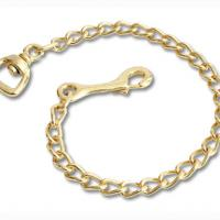 BRASS CHAIN FOR LEAD