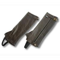 SOFT LEATHER HALF-CHAPS