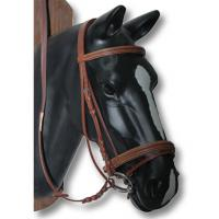 EQUESTRO ENGLISH BRIDLE, DOUBLE ITALIAN LEATHER PADDING
