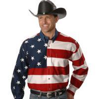 MEN'S ROPER AMERICAN FLAG MEN'S SHIRT from USA
