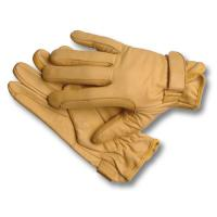 WESTERN LEATHER WORKING GLOVES, VELCRO CLOSURE