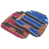 WESTERN BARREL NAVAJO PADDED SADDLE PAD
