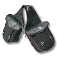 PIONEER REAR SADDLEBAG DOUBLE COTTON AND LEATHER