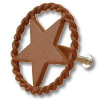 STUD SCREW BURNISHED DECORATION STAR