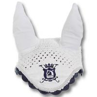 TATTINI EAR NET EMBROIDERY WITH CROWN AND POLO MALLETS