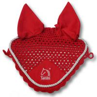 TATTINI MESH EAR NET WITH COLORED STRING