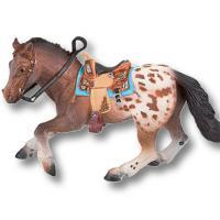 PLAY MINIATURE TOY APPALOOSA HORSE BULLYLAND