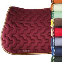 ENGLISH SADDLE PAD COTTON FABRIC, TRIMMINGS, EXCELLENT THICKNESS