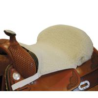 SYNTHETIC WOOL SEAT COVER FOR WESTERN SADDLE