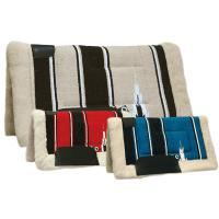 WESTERN SADDLE PAD NAVAJO FABRIC BURIONI