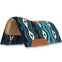 SHAPED IN WESTERN SADDLEBAG, MAYATEX brand WITH PURE NAVAJO WOOL, MADE IN U.S.A.