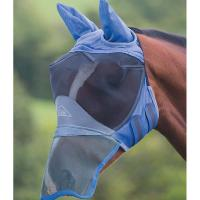 HORSE FLY MASK DELUXE ERGONOMIC SOFT MESH - 0563