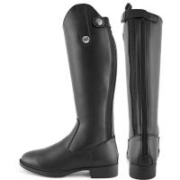 DERBY RIDING BOOTS IN SYNTHETIC LEATHER WITH ZIP JUNIOR