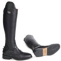 PIONEER RIDING BOOT LEATHER WITH FRONT LACES AND LEATHER SOLE