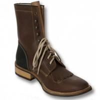 WESTERN BOOT BARKLEY L970 LACER BOOTS LEATHER