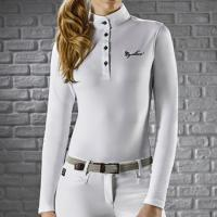 COMPETITION POLO WOMAN EQUILINE model GRACIELLE LONG SLEEVE