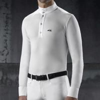 DRESSAGE POLO MAN EQUILINE model DODI LONG SLEEVE