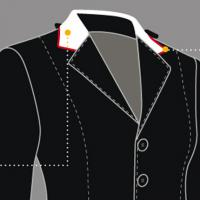 CUSTOMIZATION EQUILINE COMPETITION JACKET WOMAN, NECK