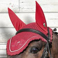 EQUILINE EAR NET GLITTER WITH DECORATIONS AND EMBROIDERY