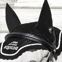 EQUILINE EAR NET OUTLINE WITH EMBROIDERY