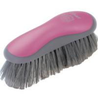 CLEANING BRUSH BRISTLES WITH RAW of OSTER PINK
