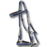 BRIDLE HALTER ROBUST AND SOFT PVC FOR ENDURANCE OR TREKKING