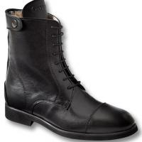 OXFORD TECHNICAL ANKLE BOOTS LEATHER WITH ELASTIC