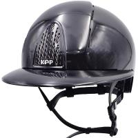 KEP ITALIA HELMET model CROMO SMART POLISH with POLO VISOR