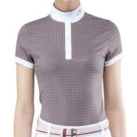 EQUILINE LADIES COMPETITION POLO EBONY model