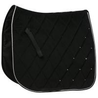 DRESSAGE SADDLE PAD model DIAMOND VELVET - 2958