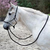 ROPE HALTER COMPLETE WITH REINS AND CARABINER - 0331