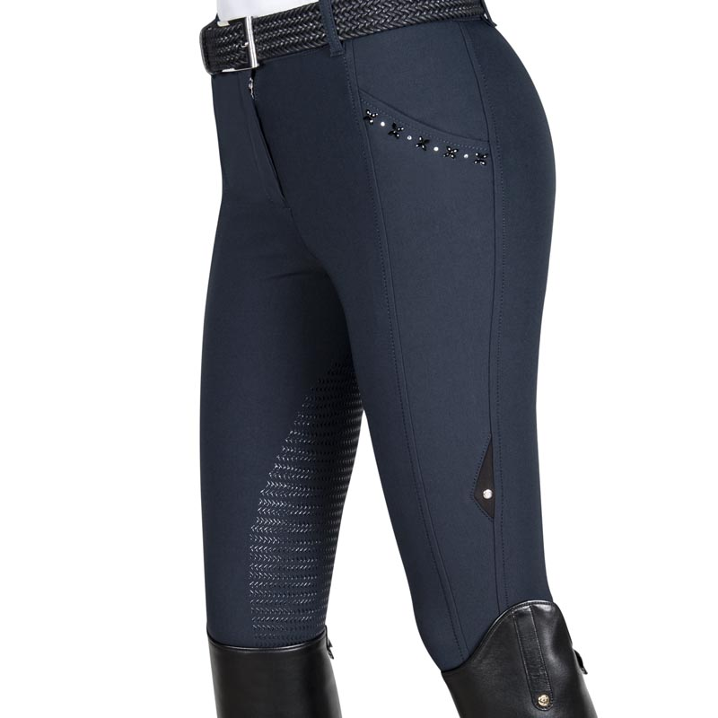 Breeches Equiline Dominga For Woman With Grip And Strass
