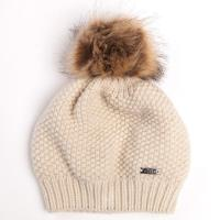 ALESSANDRO ALBANESE HAT WOOL WITH POM POM - 9529