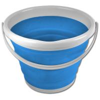 HIGH STABLE FOLDABLE STRONG RUBBER BUCKET