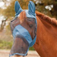 ANTI INSECT MASK FOR HORSE WITH SOFT NET - 0586