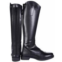 ENGLISH RIDING BOOTS COMPETITION HKM LADIES CHILDREN NEW FASHION with LACES