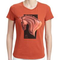 LADIES T-SHIRT VESTRUM model SANTA CRUZ with SHORT SLEEVES