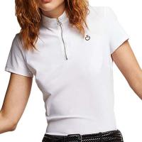 POLO SHIRT R-EVOLUTION CAVALLERIA TOSCANA KNIT COLLAR WOMAN