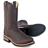 OLD WEST UNISEX BOOTS WESTERN ROUND TOE
