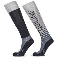EQUILINE UNISEX SOCKS model QUARTZ WITH GRIP