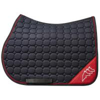 ENGLISH SADDLE PAD EQUILINE OCTAGON NADIR