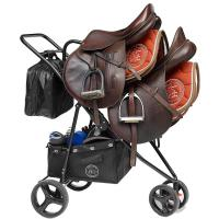 SADDLE SHERPA HORSE and TRAVEL, TROLLEY for DOUBLE SADDLE and HORSE ACCESSORIES