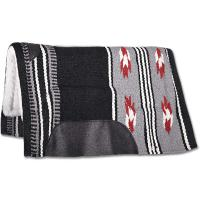 WESTERN WOOL PADDED SADDLECLOTH model UTAH - 5093