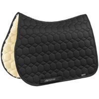 EQUILINE ENGLISH SADDLE PAD WITH AN ECOLOGICAL LAMBSKIN INTERIOR EXATRON MODEL