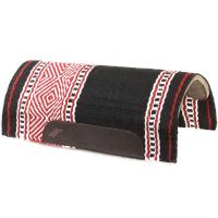 WESTERN SADDLE PAD NAVAJO BRED RED'S WITH FELT