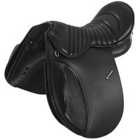 SUPREME TREKKING LEATHER SADDLE WITH INTERCHANGEABLE GULLET