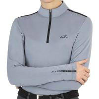 WOMAN SECOND SKIN TECHNICAL SHIRT EQUILINE CAMILC