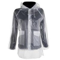 RAIN JACKET UNISEX TRANSPARENT FOR COMPETITION