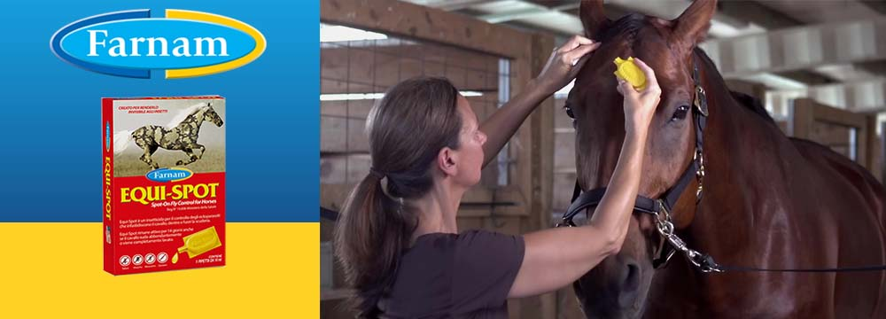 Equi-Spot Insect Repellent - Watch the Video Guide to Use it!