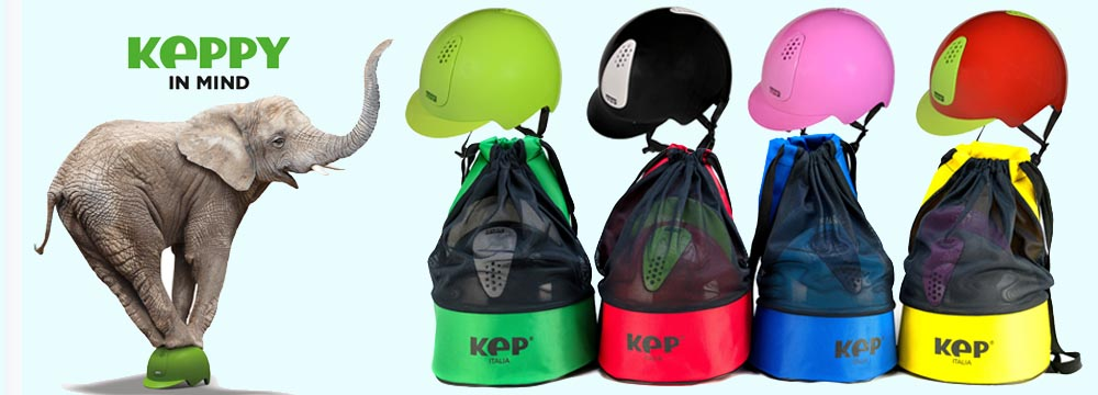 New Keppy Helmet for Young Riders, a safety revolution!